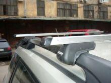 Багажник на рейлинги, Atlant, прямоугольные дуги