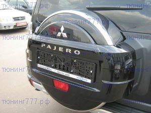 Чехол (колпак) запасного колеса, R-Tuning, обод нержавеющая сталь, а/м 2007-09/2014